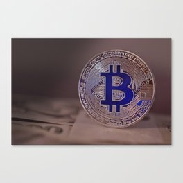 Bitcoin 7 Canvas Print