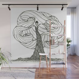 Dryad- Wind Mover Wall Mural