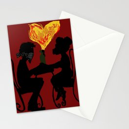 explosive date Stationery Cards