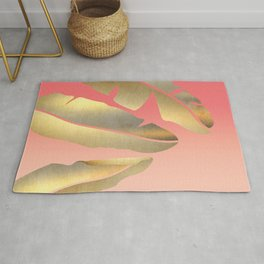 Shining Banana Leaves Rug