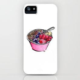 Pitaya Bowl iPhone Case