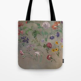 Studies of Flowers by Jacques-Laurent Agasse, 1848 Tote Bag
