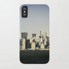 Lower Manhattan iPhone X Slim Case