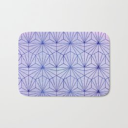 Winter Lace Bath Mat