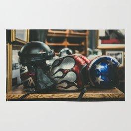 Helmets Rug