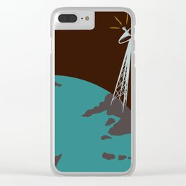 Were Not Alone Clear iPhone Case