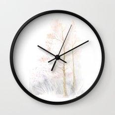 Memories of Winter Wall Clock