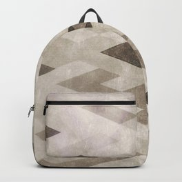 Abstract Pattern in Subtle Backpack