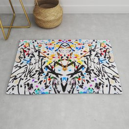 The Garden in Abstract Rug