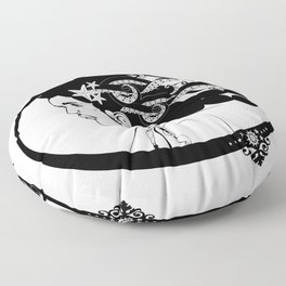 Pirate Nereid Floor Pillow