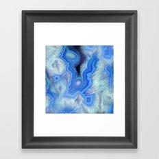 Blue Sky Stone Framed Art Print