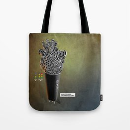 CRZN Dynamic Microphone - 003 Tote Bag