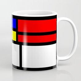 Cubism Painting Art Retro Pattern Coffee Mug