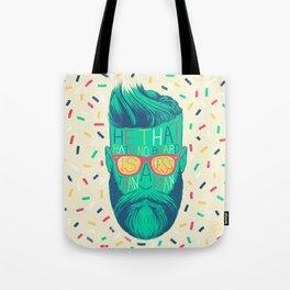 He That Hath No Beard Tote Bag