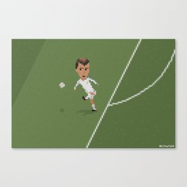 Zidane's volley Canvas Print