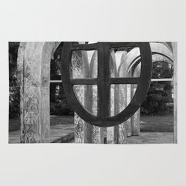 Small Park with Arches Rug