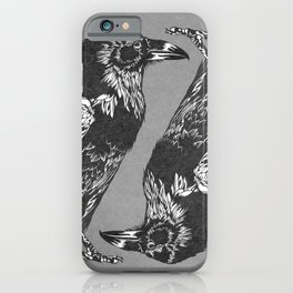 Raven Grey iPhone Case
