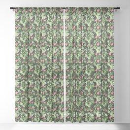 Calathea Jungle Sheer Curtain