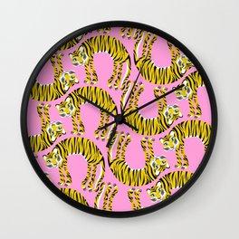 // TIGER PATTERN // Wall Clock