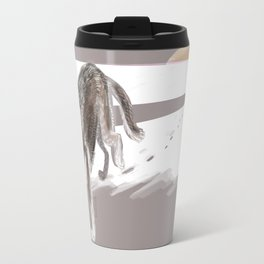 Wolves of the World: Russian Wolf (Canis lupus communis) (c) 2017 Travel Mug