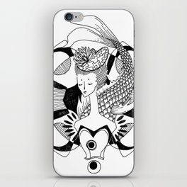 Fishy Lady iPhone Skin