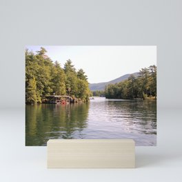 Beautiful Lake George Mini Art Print