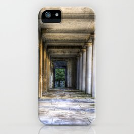Kensal Green Cemetery  Colonnade iPhone Case