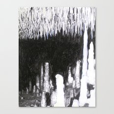 Cave Drawing IV Canvas Print