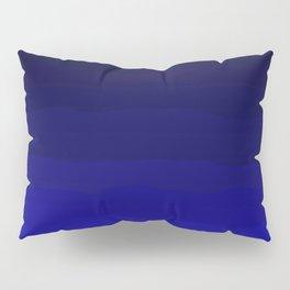 Deep Rich Sapphire Ombre Pillow Sham