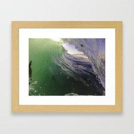 Seaweed Crumble Framed Art Print