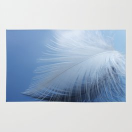 Feather in the clouds Rug