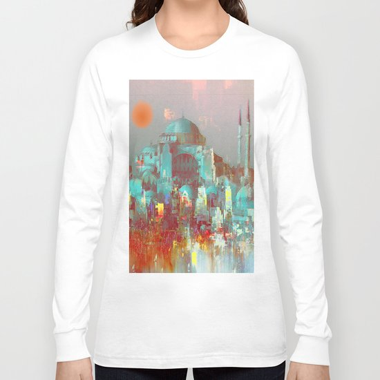 the saint-Sophie Basilica Long Sleeve T-shirt