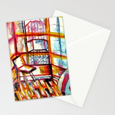 sun times & jerry's window Stationery Cards