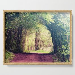 Tree Tunnel Serving Tray