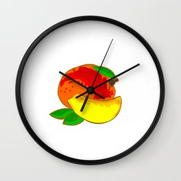 Mango Heart Wall Clock