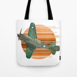 P-40 Warhawk Tote Bag