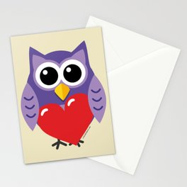 An Owly Love Stationery Cards