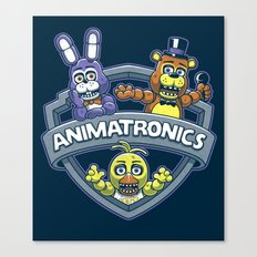 Animatronic Maniacs Canvas Print