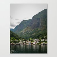 norway Canvas Prints featuring Norway by Michelle McConnell