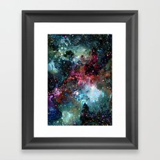 Theory of Everything Framed Art Print