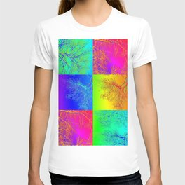 rainbow tree collage by Catherine Jacobs - Cathy of SheerJoy T-shirt