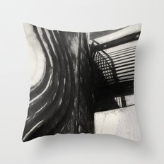 Conflicting ways Throw Pillow