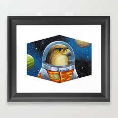 The Traveller Framed Art Print