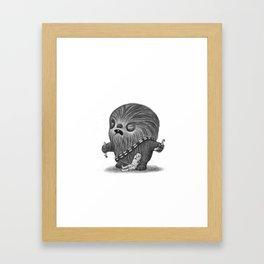 Lil Chewy Framed Art Print
