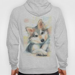 Husky Puppy Hoody