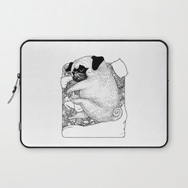 I'm Tired, You're a Lonely Pug Laptop Sleeve
