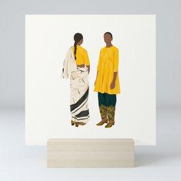 Saree Series Mini Art Print