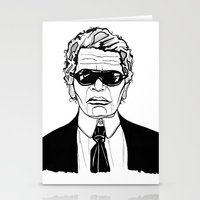 karl lagerfeld Stationery Cards featuring Uncle Karl Lagerfeld by Thompson ET Julienne
