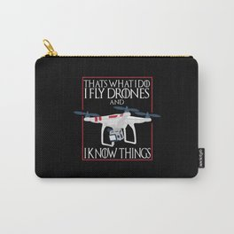 I Fly Drones Carry-All Pouch
