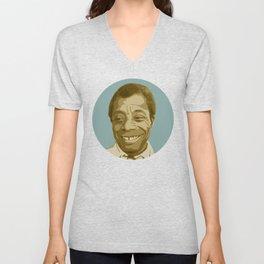 James Baldwin Unisex V-Neck